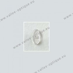 Screw on nose pads 13 mm - polycarbonate inserts - PVC - 10 pairs