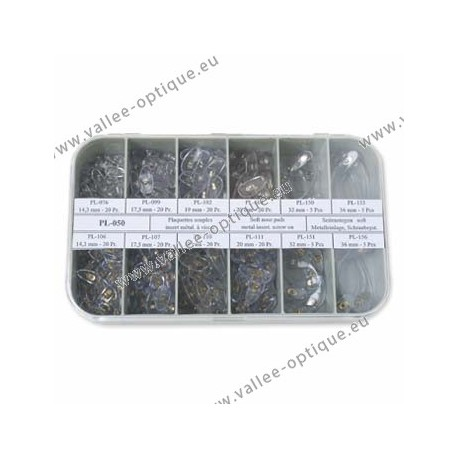 Set of screw on nose pads