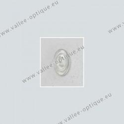Primadonna type nose pads 13 mm - PVC - 5 pairs