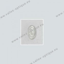 Primadonna type nose pads 13 mm - PVC - 20 pairs