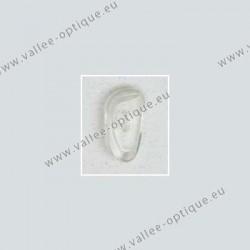 Primadonna type nose pads 17 mm - PVC - 20 pairs