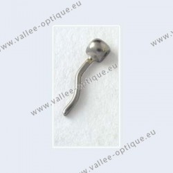Nose pad arms for screw on nose pads - nickel plated